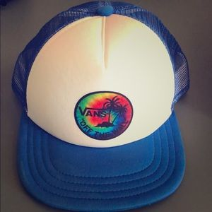 Vans boys snap back hat